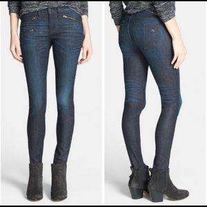 RAG & BONE | zip detail skinny jean kensington 26